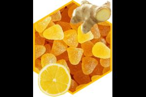 Mini-Gelee Zitrone mit Honig und Ingwer 100g