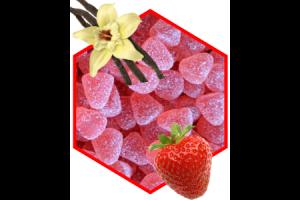 Mini-Gelee Erdbeere mit Honig und Vanille 100g